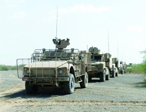 بإسناد من التحالف العربي الجيش اليمني ينتزع مواقع استرايجية من الحوثيين في محور الشريجة بين لحج وتعز