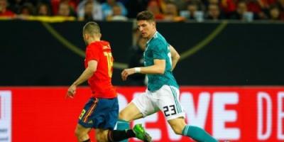 بالصور: ألمانيا تتعادل مع إسبانيا في قمة ودية