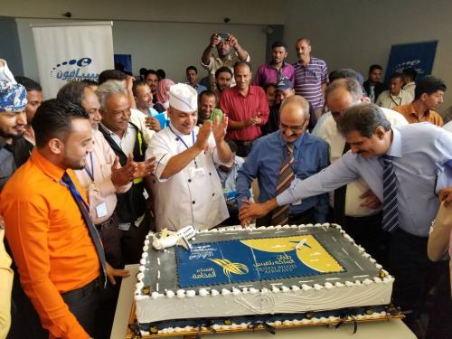 خطوط الملكة بلقيس للطيران تدشن أولى رحلاتها من مطار عدن