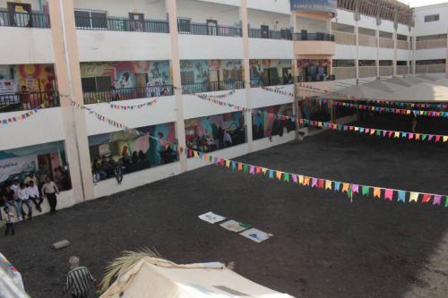 افتتاح المعرض العلمي الأول لإبداعات طلاب مدارس سماء عدن