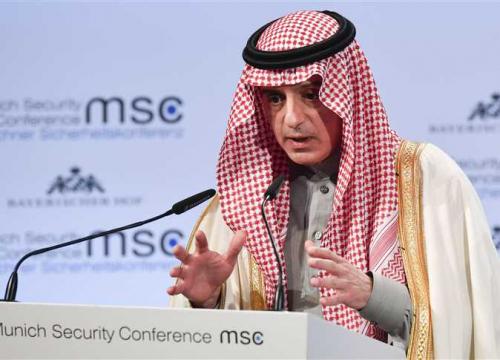 الجبير من واشنطن: حل قضية قطر خليجياً.. ونأمل عودتها إلى الصواب