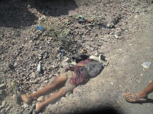 لحج : عشرات القتلى والجرحى في صفوف مليشيا الحوثي أثناء محاولتها استعادة السيطرة على جبل حمالة الاستراتيجي