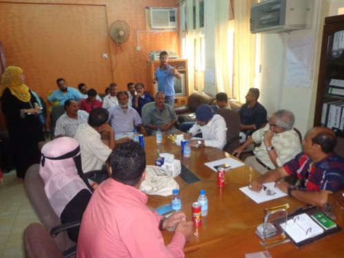 """محلي """"خور مكسر"""" يستضيف جلسة حوار مجتمعي حول محمية بحيرات """"البجع"""""""