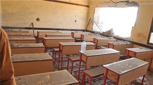 ميليشيا الحوثي تقصف المساجد والمدارس في حيس