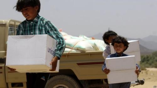 منظمة أممية: مليونا طفل يمني تركوا مقاعد الدراسة منذ 2015