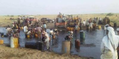 وزارة النفط تحذر: تعامل الحوثيين مع النفط الخام كارثة بيئية على الأرض والإنسان (صورة)