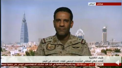 ناطق التحالف العربي : بقاء الرئيس هادي في الرياض هو للحفاظ على حياته