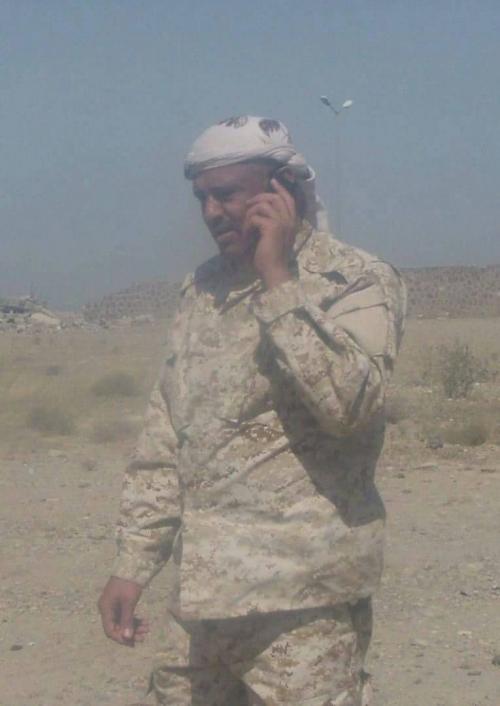 القائد البدشي : استلمنا النقطة التابعة للكتيبة السابعة المرابطة بين قعطبة وسناح والعقلة كان وفياً بما وعد