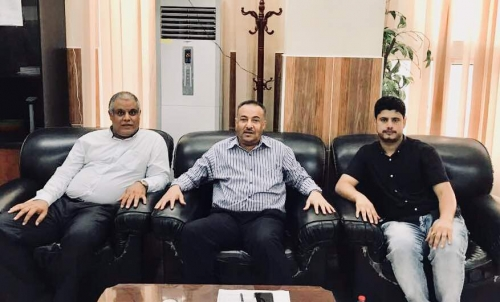المحبشي يبحث فرص الاستثمار في العاصمة عدن .