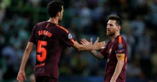 برشلونة يفتقد ميسي وبوسكيتس أمام إشبيلية للإصابة