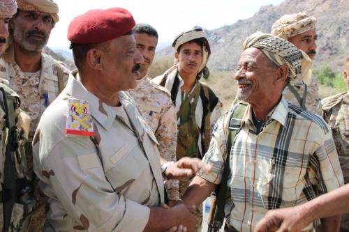 قائد المنطقة الرابعة : انتصارات الشريجة وكرش تمثل انطلاقا لفتح البوابة الجنوبية لمحافظة تعز