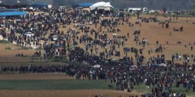 شهداء وعشرات المصابين الفلسطينيين في يوم الأرض