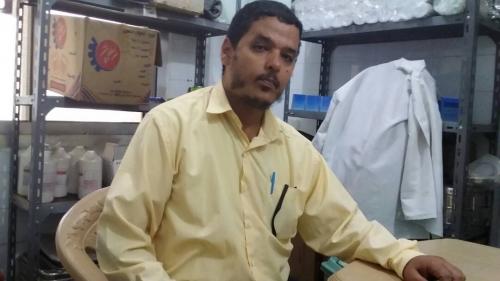 """"""" الجعدني """" مديراً لمجمع البريقة الصحي"""
