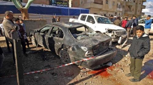 8 قتلى بهجوم انتحاري شرق ليبيا... و«داعش» يتبنى