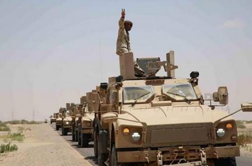 حضرموت: قوات المنطقة الأولى بدعم التحالف تهاجم أوكار القاعدة في الوادي