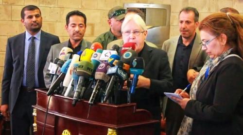 المبعوث الأممي يغادر صنعاء متوجهاً إلى جنيف