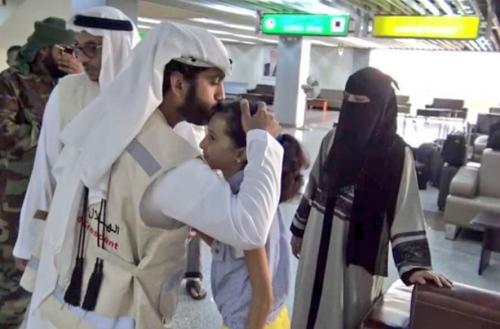 «الهلال الاحمر الإماراتي» يتكفل بعلاج الطفلة أسيل التي تعاني من ثقب في القلب