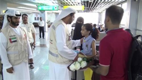 """هكذا تجسدت إنسانية الإمارات بإستكمال علاج طفلة يمنية تعاني من ثقب بالقلب !! """"صور"""""""