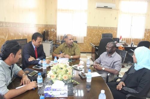 صحة ساحل حضرموت تعقد لقاءين منفصلين مع مندوبي منظمة الصحة العالمية واليونيسيف 