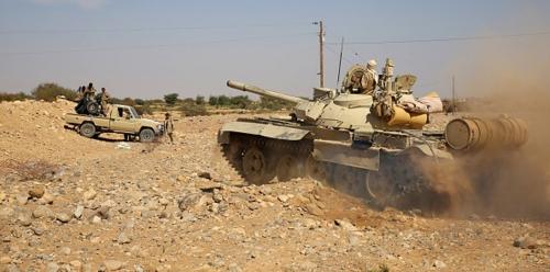 الجيش الوطني يتصدى لهجوم حوثي واسع في الحديدة