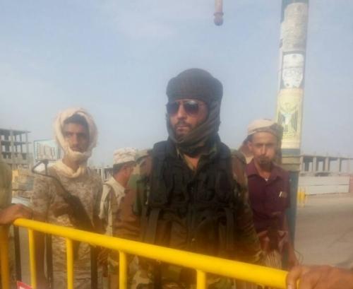 قائد الحزام الأمني ينفي مزاعم مدير عام البريقة بخصوص علاقته بعمليات البسط على أراضي الدولة