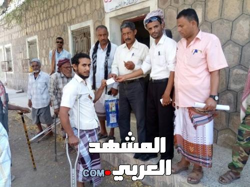 مكتب الشهداء والجرحى بمديريات ردفان يدشن توزيع كروت الأرقام العسكرية لجرحى الحرب
