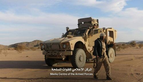 """الجيش الوطني تحرر  """" جبل الشعير""""  شمال غرب الجوف"""
