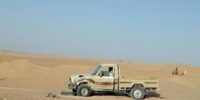 النخبة الشبوانية تضبط سيارة محملة بالاسلحة والدخائر كانت في طريقها الى عاصمة المحافظة