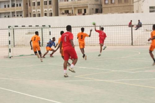 شباب روكب يواصل الأنتصارات على شباب ميفع في منافسات بطولة كرة اليد التنشيطية
