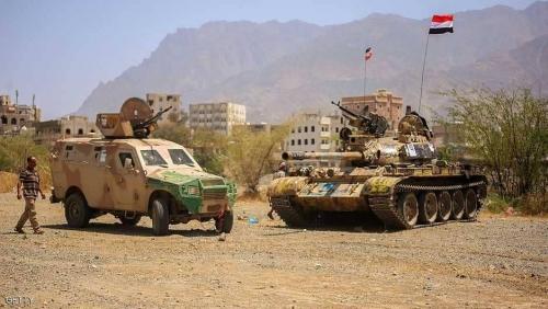 الجيش اليمني على مشارف الراهدة في تعز