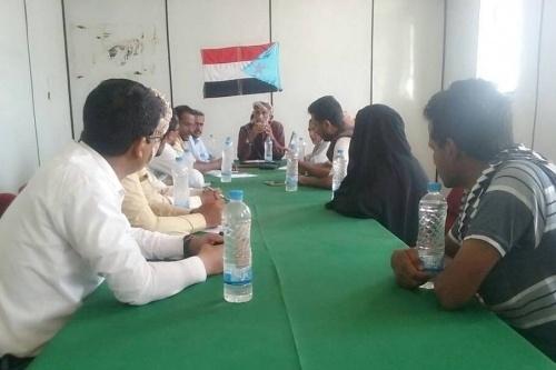 الهيئة التنفيذية للقيادة المحلية للمجلس الانتقالي بشبوة تعقد إجتماها الدوري