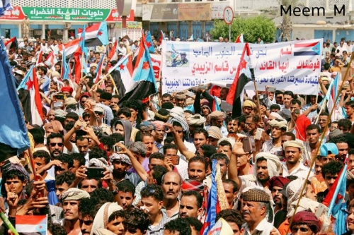 المجلس الأعلى للحراك الثوري :الانتقالي هو الحامل والممثل لقضية شعب الجنوب ونحذر منتسابق حراك الشرعية والحوثيين