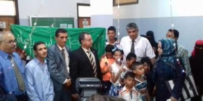جمعية أنا وليس إعاقتي للتنمية بعدن تشارك بيوم الطالب الحقوقي بكلية الحقوق جامعة عدن
