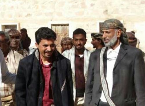 قيادة المجلس الانتقالي بشبوة تؤدي واجب العزاء لآل باقطمي  وتقوم بزيارة اسرة المختطف الجرداني