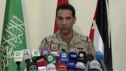 التحالف يحدد المناطق اليمنية التي يطلق الحوثي منها الصواريخ البالستية على السعودية