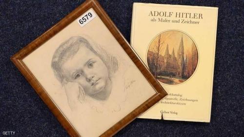 """""""صورة فتاة"""" رسمها هتلر للبيع في مزاد علني"""