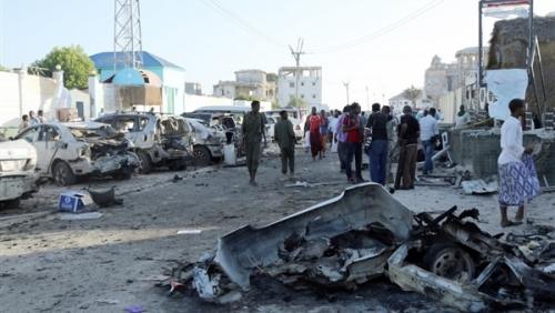 إصابة جنديين في تفجير انتحاري بمقديشو