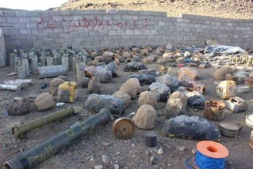 مقتل 700 مدني بألغام الحوثيين في تعز