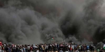 """باريس تدين """"إطلاق النار العشوائي"""" للجيش الإسرائيلي"""