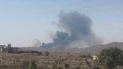 عاجل: طيران التحالف العربي يستهدف اجتماعاً لقيادات ميليشيات الحوثي في صعدة