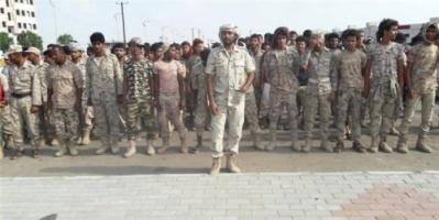 وقفة احتجاجية لشباب المقاومة بالبريقة للمطالبة بمنحهم أرقامهم العسكرية