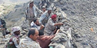 أبطال اللواء الثاني حزم يصدون هجوما للمليشيات الحوثية بمنطقة الراهدة