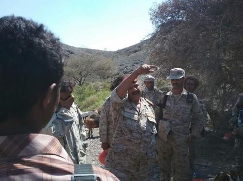 قتلى وجرحى من الميليشيا خلال صد قوات الجيش الوطني هجوماً شمال لحج