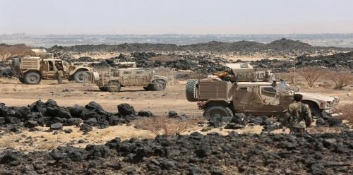 الجيش اليمني يحرر كامل منطقة ميدي