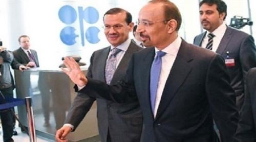 """وزير الطاقة السعودي: """"نعم أنا سعيد بسوق النفط في الوقت الحالي"""""""