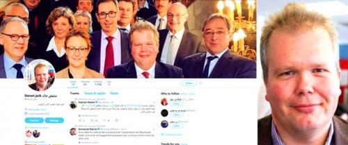 صحيفة: صحفي  إصلاحي يتبع الشرعية انتحل صفة برلماني فرنسي تحت مسمى خبير أممي لمهاجمة المجلس الانتقالي