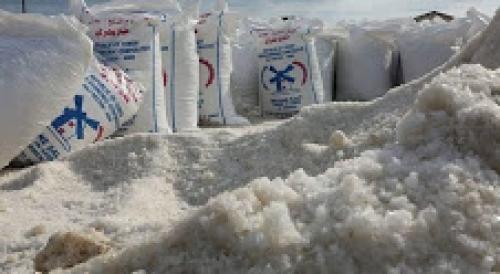 """قطاع الملح بعدن.. ثروة اقتصادية تهدرها البسط على اراضيها من قبل متنفذين """"تقرير"""""""