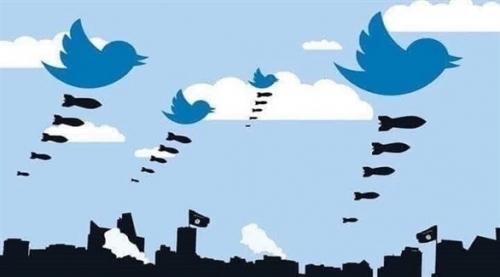"""تويتر: تعليق مليون حساب منذ 2015 بسبب """"الترويج للإرهاب"""""""