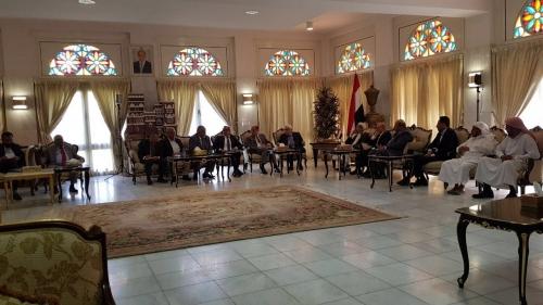 قيادات الأحزاب والمكونات السياسية تلتقي مبعوث الأمم المتحدة غريفيث وتؤكد دعمها لجهود السلام