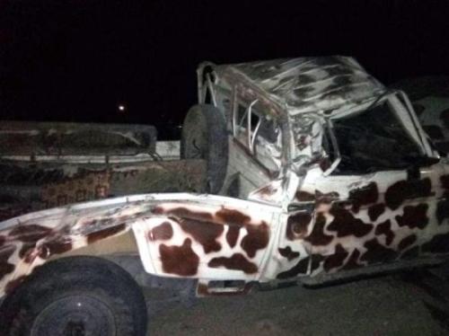 حادث مروري مروع يودي بحياة ثلاثة أفراد من قوات النخبة الشبوانية